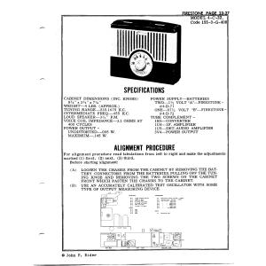 Firestone Tire & Rubber Co. 4-C-22