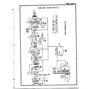 Fordson Radio Mfg. Co. 6-T