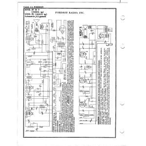 Fordson Radio Mfg. Co. FP 32 V