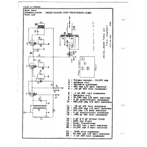 Freed Radio & Television Corp. 346-4
