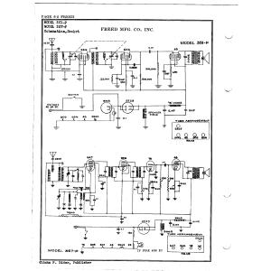 Freed Radio & Television Corp. 351-P