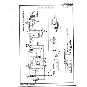 Freed Radio & Television Corp. 357-L