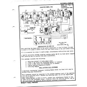 Galvin Mfg. Co. 100, Type 1