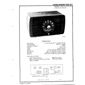 Gamble-Skogmo, Inc. 05RA33-43-8137A