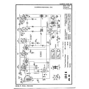 Gamble-Skogmo, Inc. 15C6