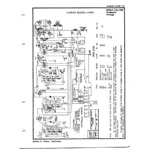 Garod Radio Corp. 104M