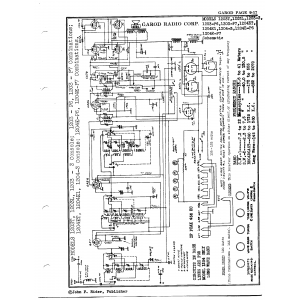 Garod Radio Corp. 1204E-P6