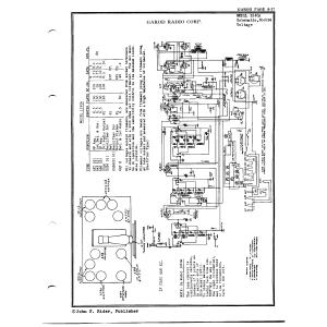 Garod Radio Corp. 1240A