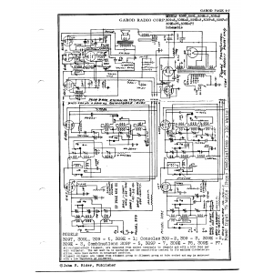 Garod Radio Corp. 309E-2