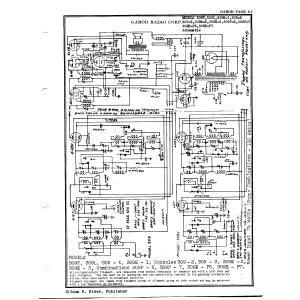 Garod Radio Corp. 309L
