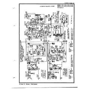 Garod Radio Corp. 371D