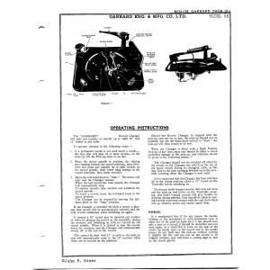 Garrard Eng. & Mfg. Co. Ltd. 65