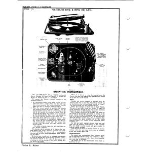 Garrard Eng. & Mfg. Co. Ltd. 70