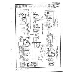 Gates Radio & Supply Co. 40-B Amplifier
