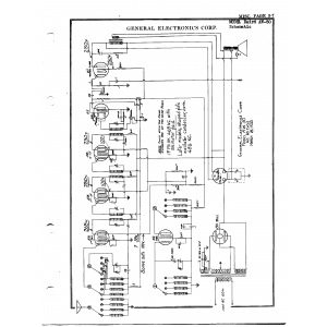 General Electronics Corp. Baird AW-50
