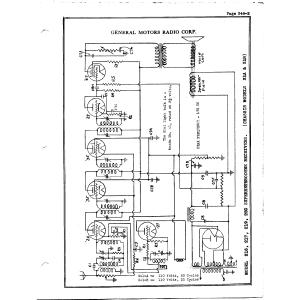 General Motors Radio Corp. 250