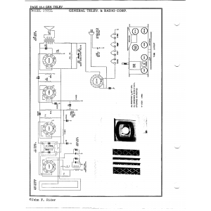 General Telev. & Radio Corp. 27C5L