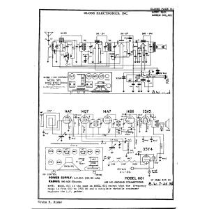 Globe Electronics, Inc. 601