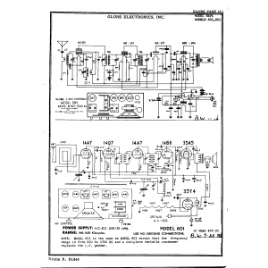 Globe Electronics, Inc. 6U1