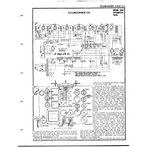 Gulbransen Co. 322