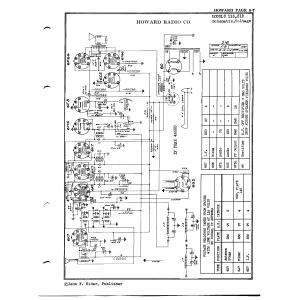 Howard Radio Co. 118