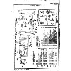 Hudson Motor Car Co. DB-41