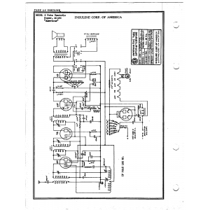 Insuline Corp. of America 5 Tube Unaradio