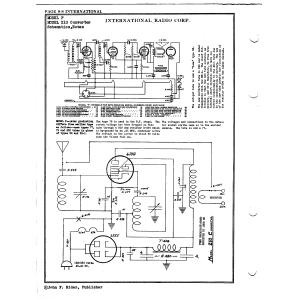 International Radio Corp. 210 Converter