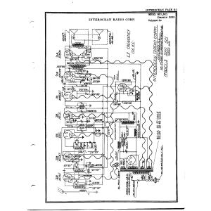Interocean Radio Corp. 2035 Chassis