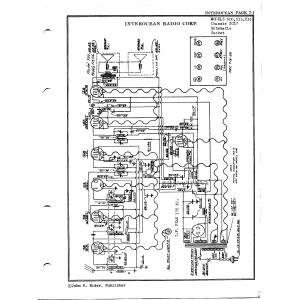 Interocean Radio Corp. Chassis 2037