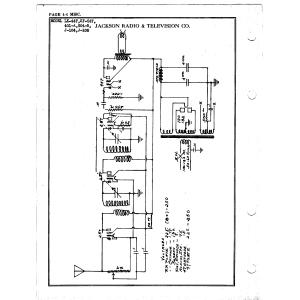Jackson Radio & Television Co. SF-547