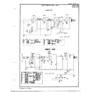 John Meck Industries, Inc. 4H8