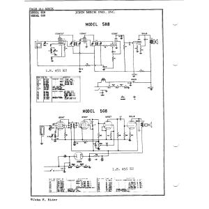 John Meck Industries, Inc. 5H8