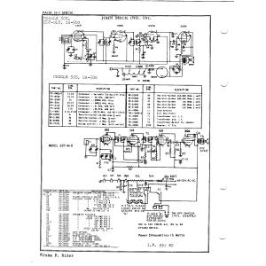John Meck Industries, Inc. CA-500