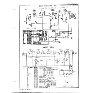 John Meck Industries, Inc. DA-601