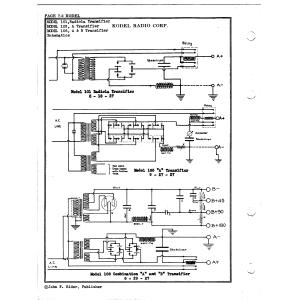 Kodel Radio Corp. 103, A Trnasifier