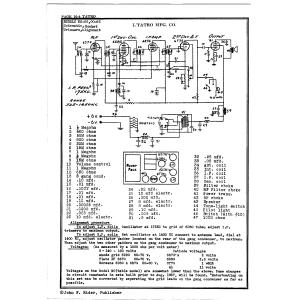 L. Tatro Products Corp. 00-66