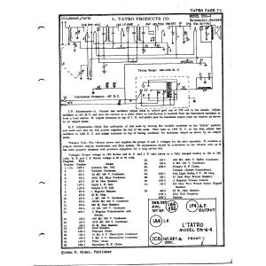 L. Tatro Products Corp. EN6-4