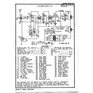 L. Tatro Products Corp. FQ-39