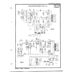 Lafayette Radio Mfg. Co. 120-A