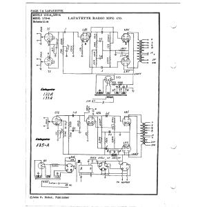 Lafayette Radio Mfg. Co. 132-A