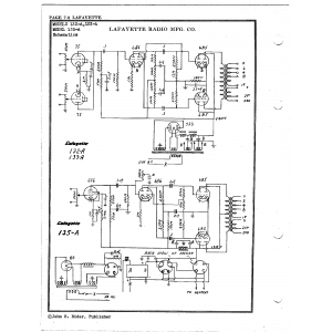 Lafayette Radio Mfg. Co. 133-A