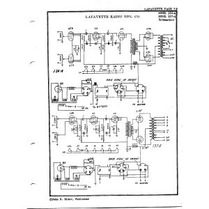 Lafayette Radio Mfg. Co. 137-A