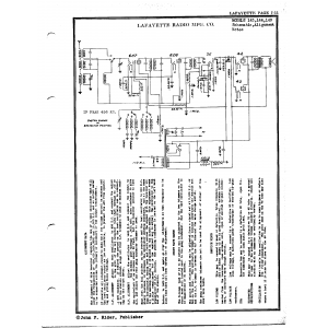 Lafayette Radio Mfg. Co. 143