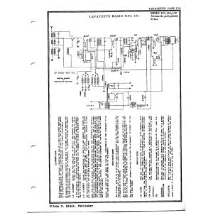 Lafayette Radio Mfg. Co. 149