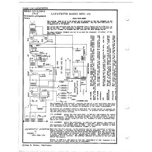 Lafayette Radio Mfg. Co. 171-X