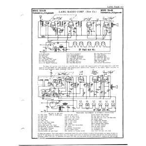 Lang Radio Co. 503-US