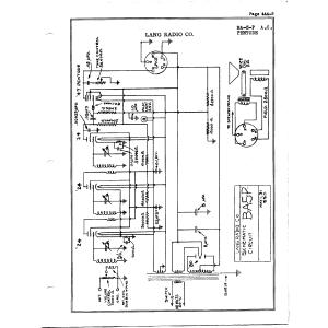 Lang Radio Co. BA-5-P