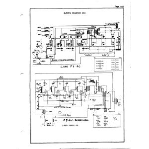 Lang Radio Co. F-9