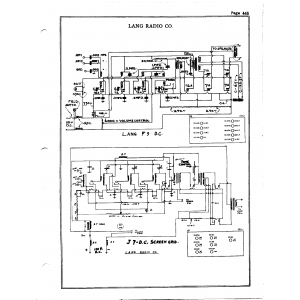 Lang Radio Co. J-7